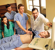 use of ultrasound in trauma training