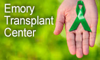 Graphic link to the Emory Transplant Center section of the Emory Healthcare website.