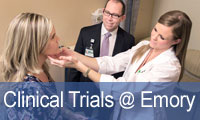 clinical trials at Emory
