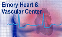 Graphic link to the Emory Heart and Vascular Center
