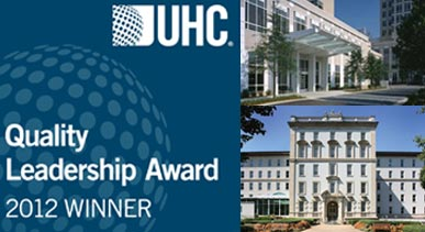 UHC 2012 Quality Awards to EUH & EUH-Midtown