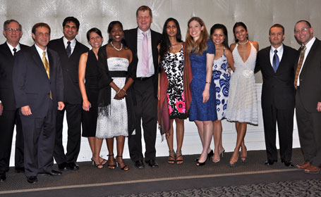 2010-2011 chief residents with Drs. Dodson, Larsen and Delman