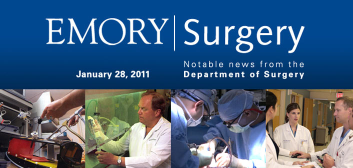 Emory Surgery Newsletter