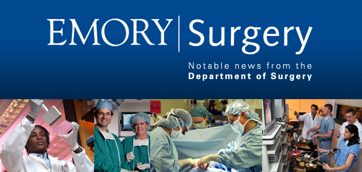 Emory Surgery Newsletter | August 2009